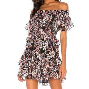 Misa Los Angeles floral dress